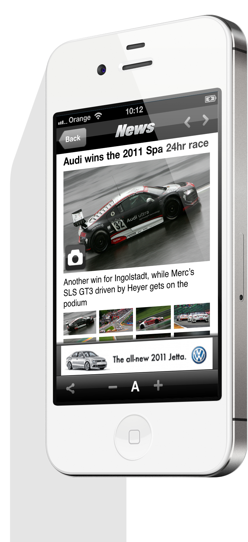 Top Gear Mobile App Image