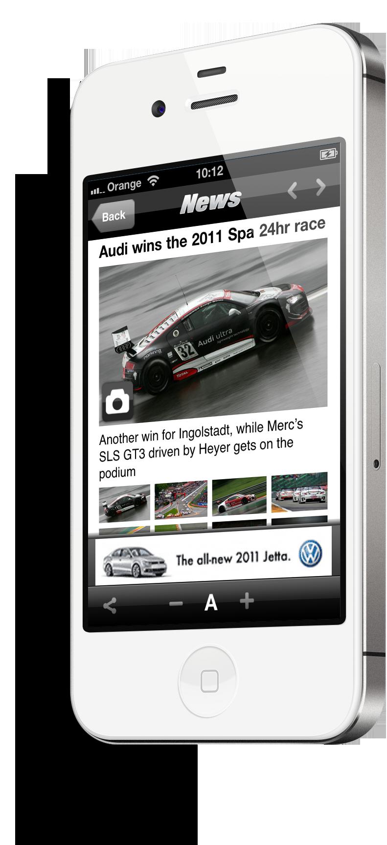 Top Gear Mobile App Image